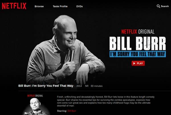 netflix bill burr sorry